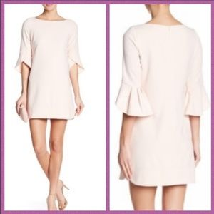 Vince CamutoCrepe Knit Solid Dress